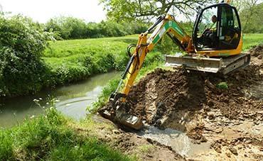 Bevern Stream - Backwater creation