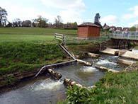 Bevern Stream Clappers Weir Eel Passage