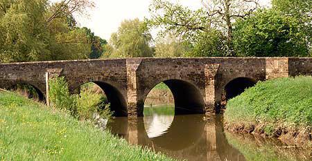 Mock Bridge on the eastern arm of the Adur