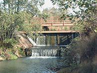 Buxted Park Weir